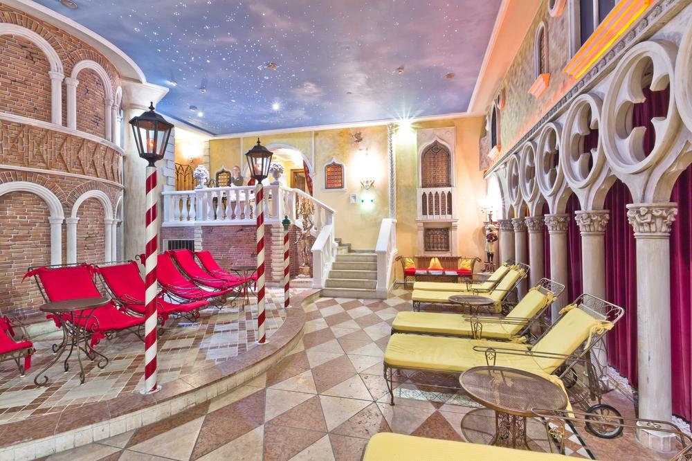 Das Central Hotel Wellness Sölden Spa Wasserwelt Venezia