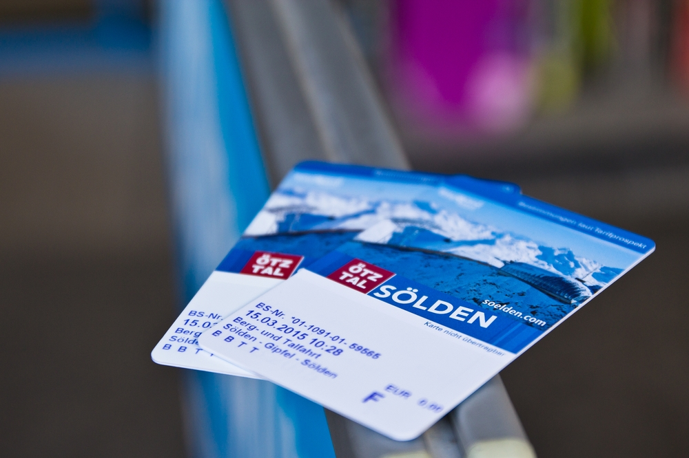 Sölden Skipass Ticket