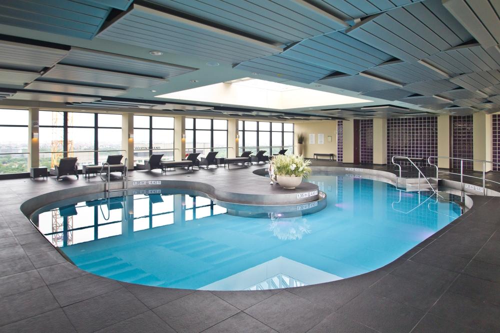München Sheraton Arabellapark Pool