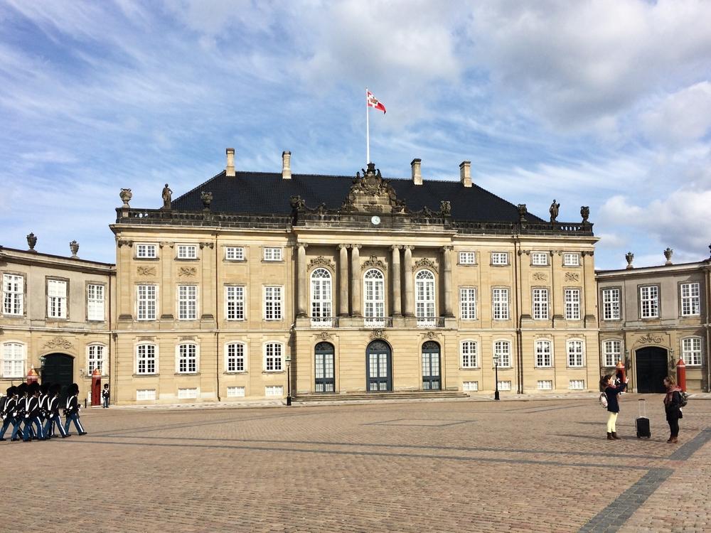 Schloss Amalienborg Kopenhagen