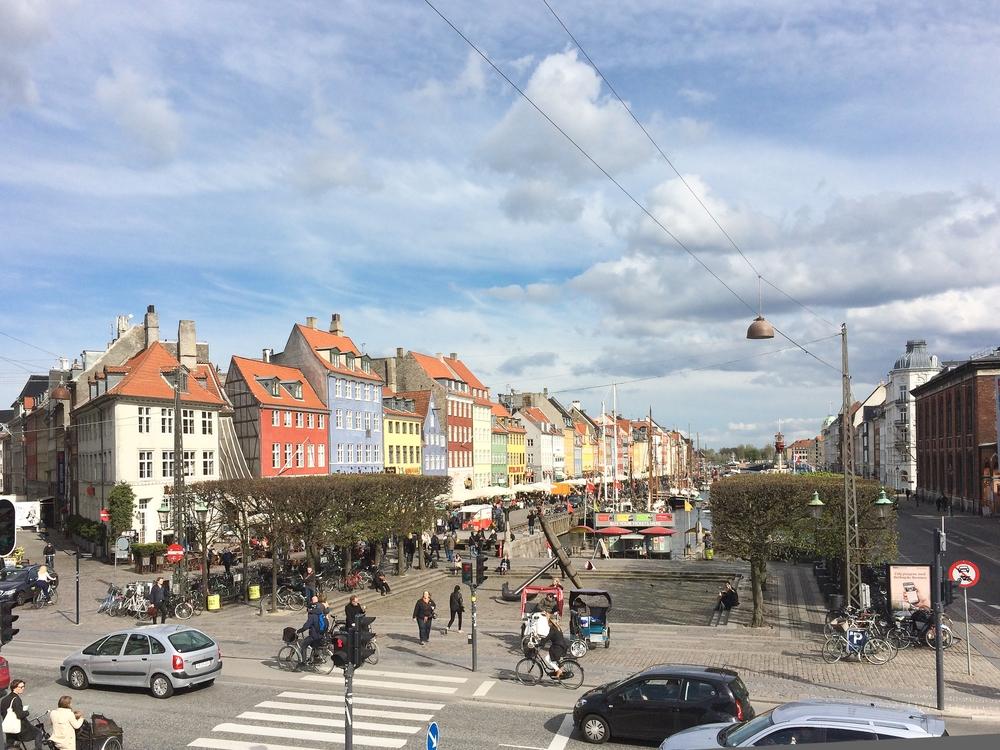 Kopenhagen Nyhavn Luftbild