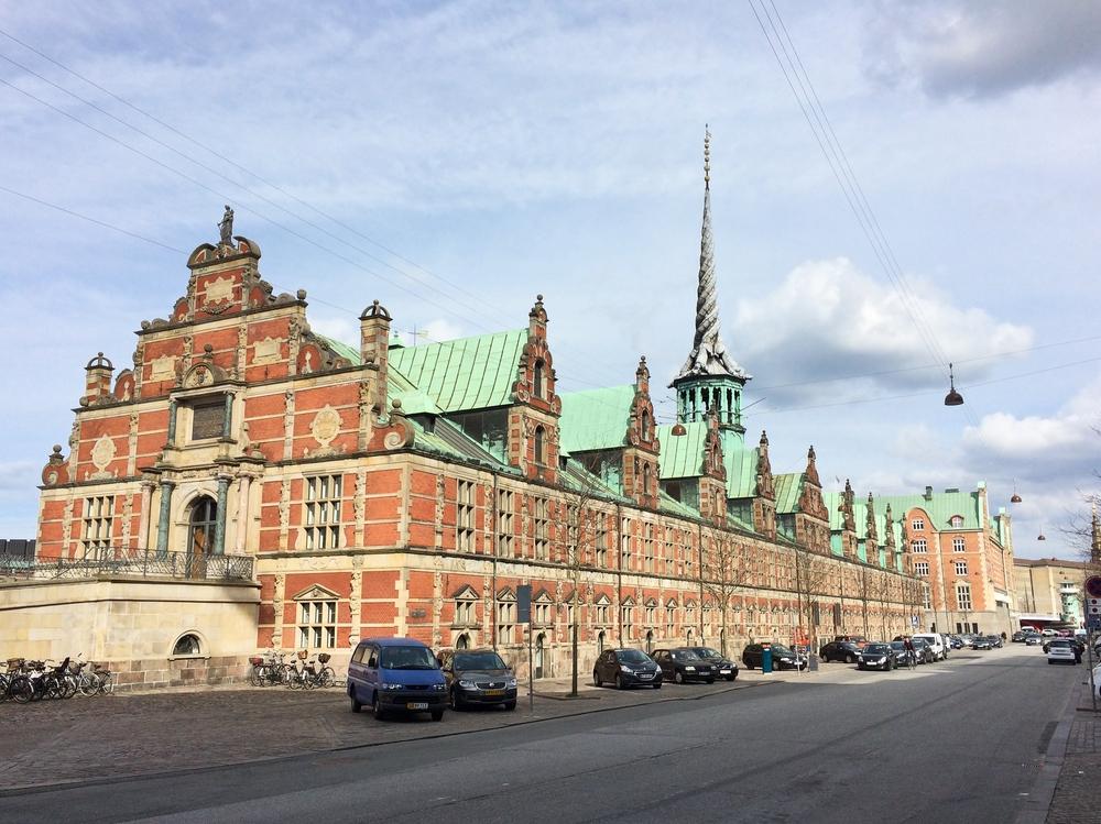 Sightseeing Kopenhagen Turm Insel Slotsholmen alte Börse