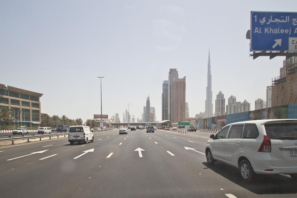 Dubai Sheik Zayed Road Ramadan