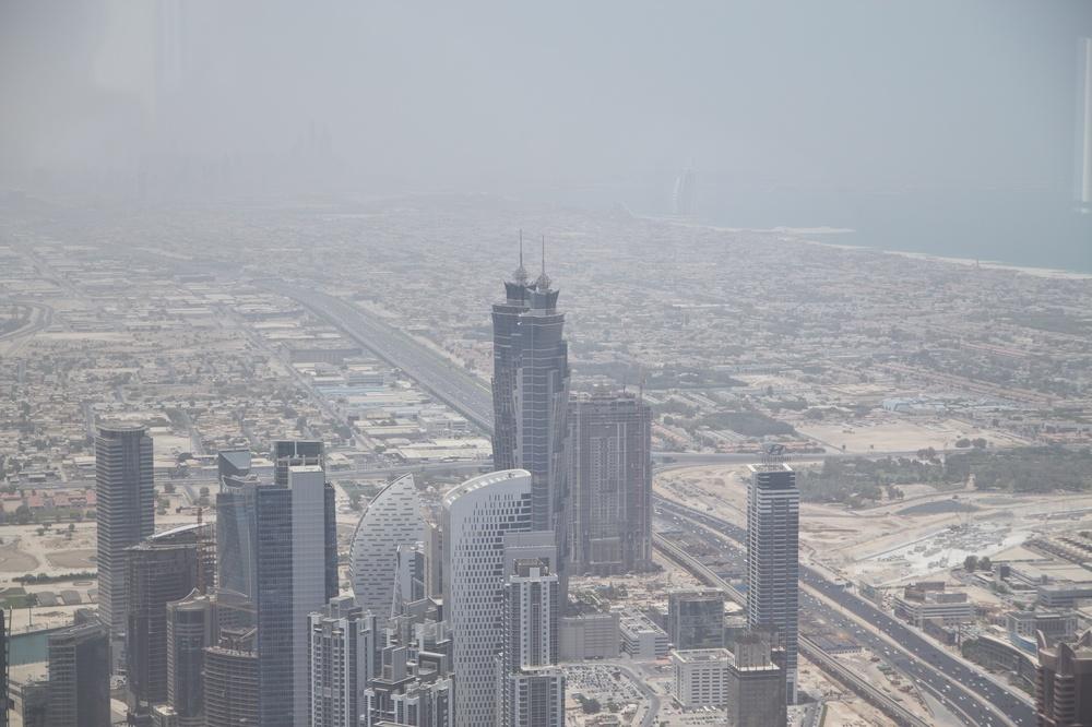 Dubai Marina from Burj Khalifa