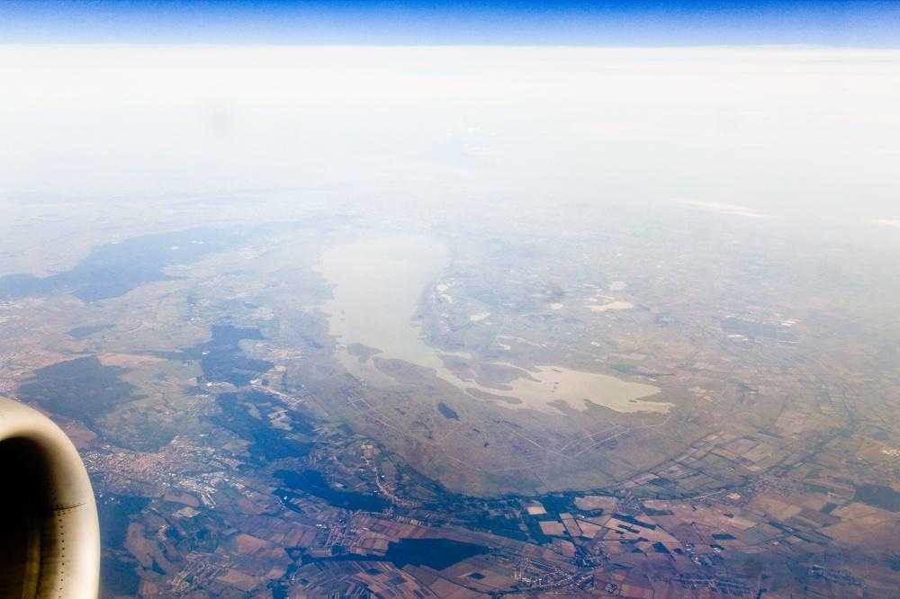 Neusiedler See Luftbild
