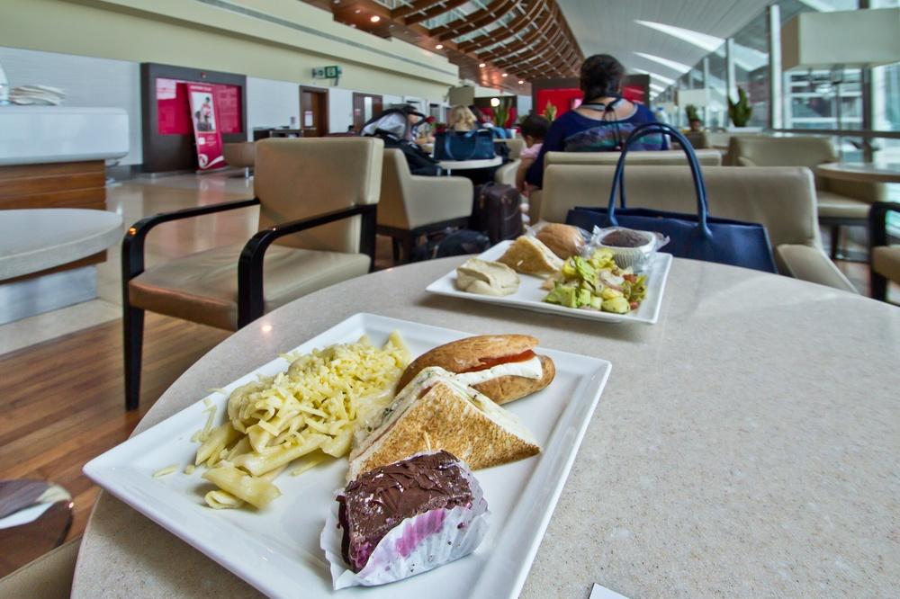 Dubai Airport Marhaba Lounge DXB