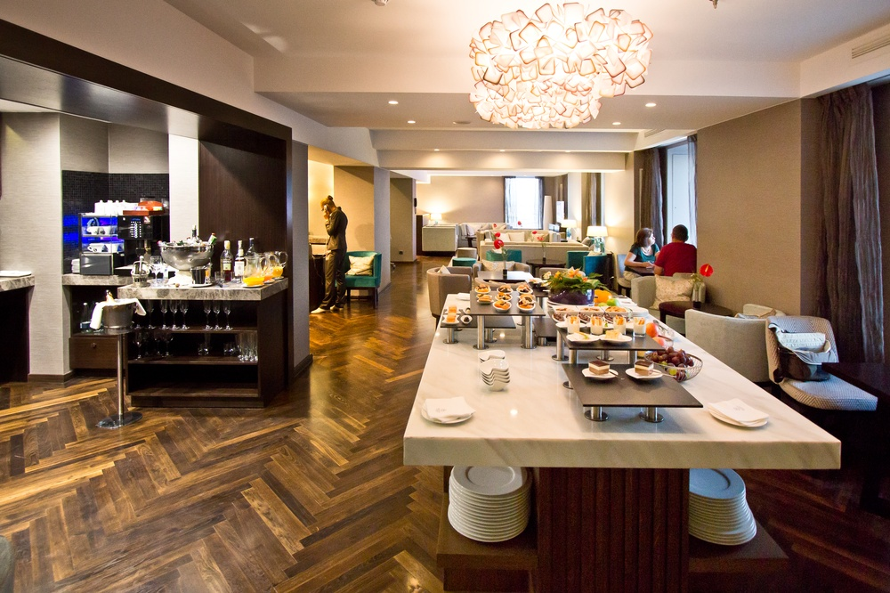 SPG Lounge executive Sheraton Bukarest