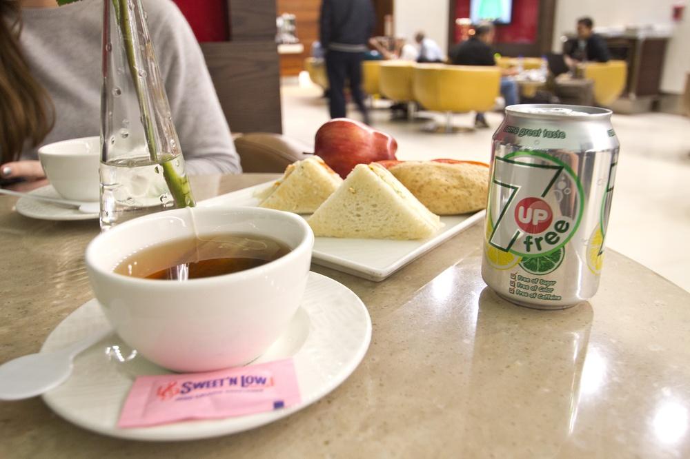 Airport Lounge Check - Marhaba Lounge Dubai Flughafen