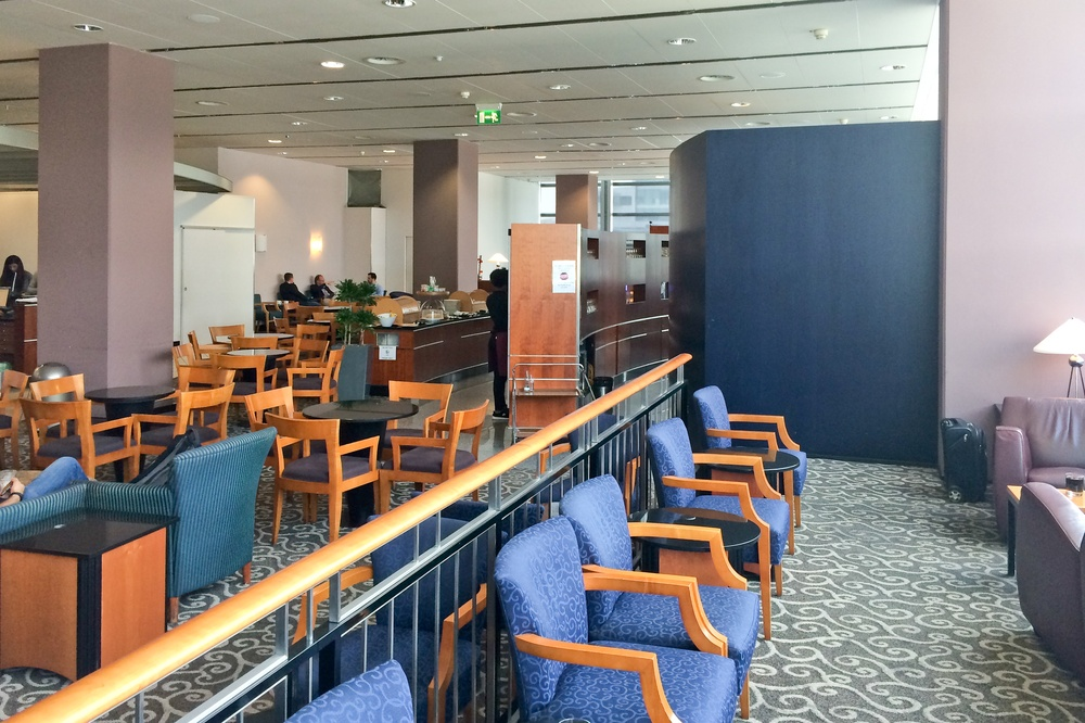 Airport Lounge Check - Sky Club Lounge Frankfurt Flughafen