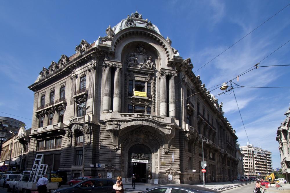 Lipscani-Viertel Altstadt Bukarest