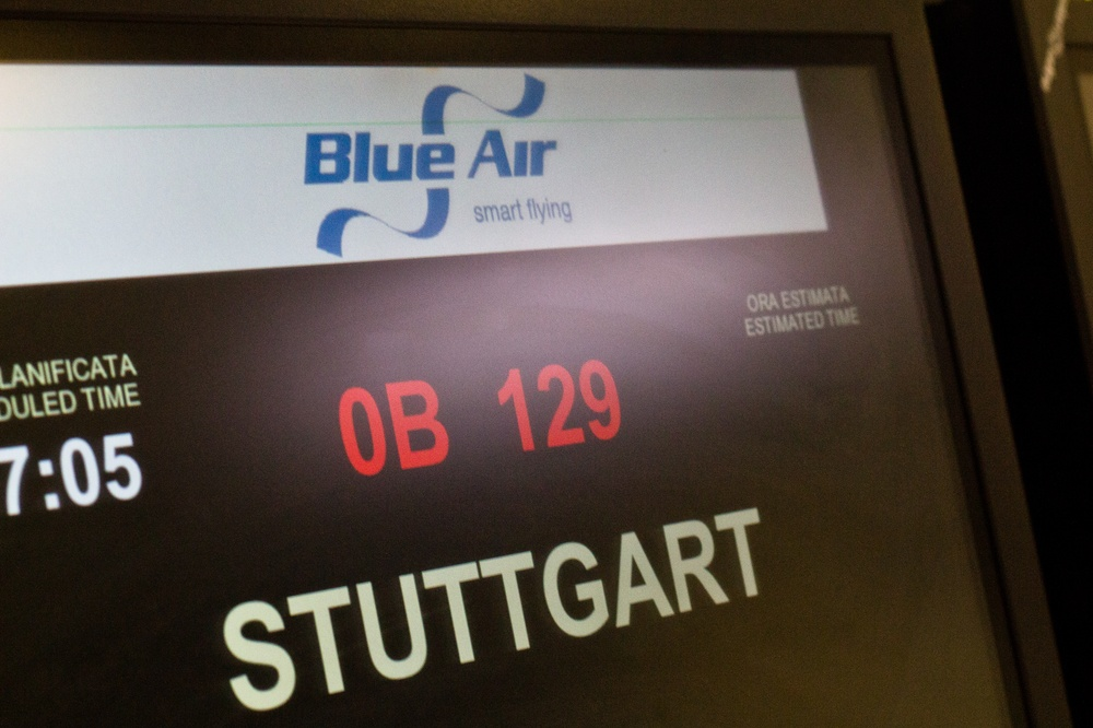 Blue Air Bukarest Stuttgart Flug Bericht