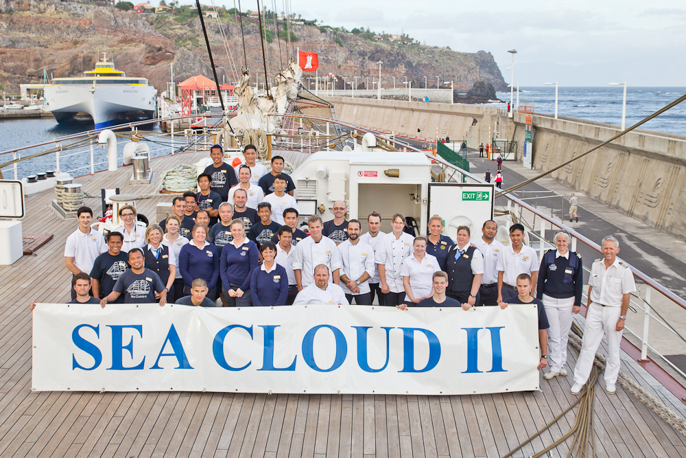 Sea Cloud II Crew La Gomera