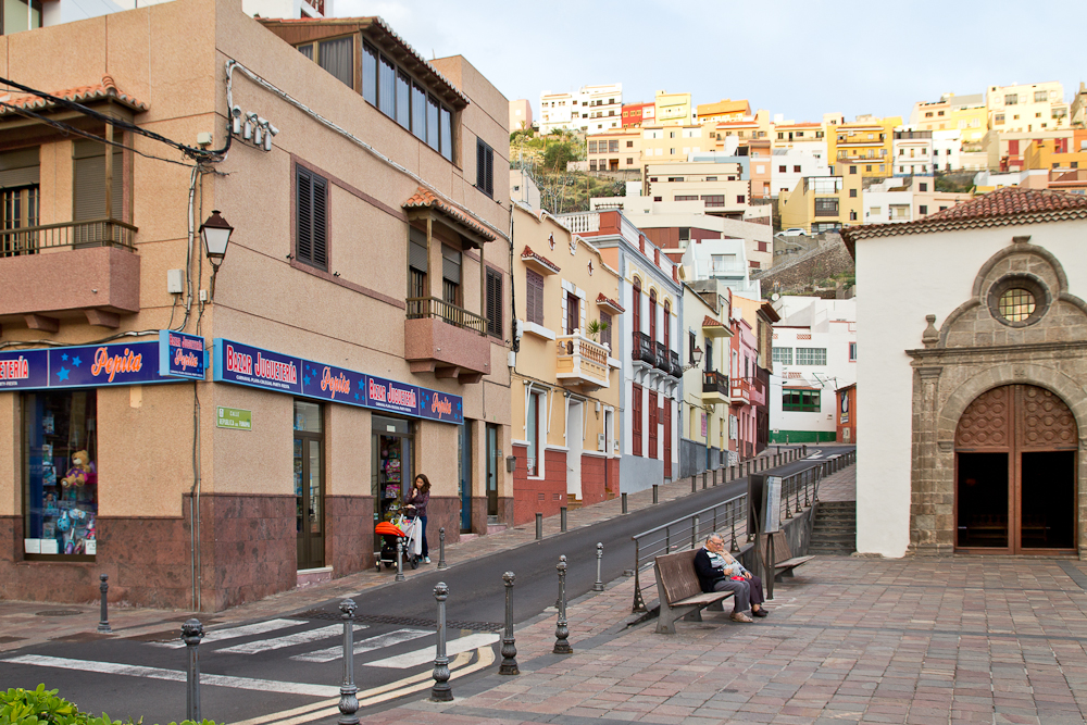 Sightseeing San Sebastián La Gomera