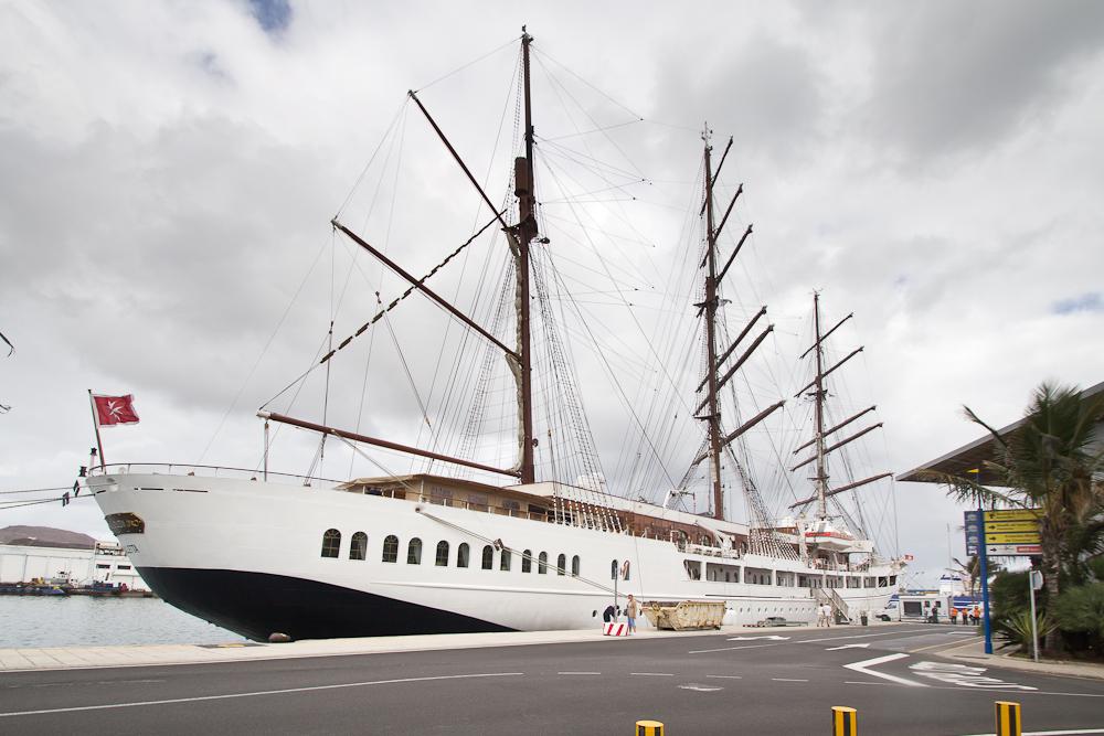 Sea Cloud II Hafen Las Palmas Gran Canaria