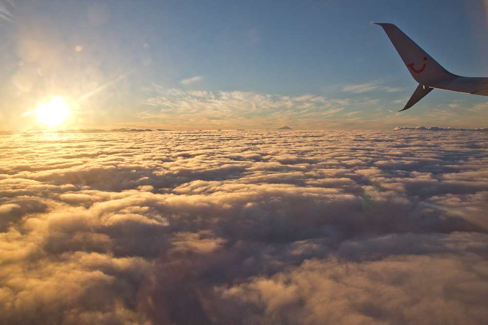Sonnenuntergang Teide Kanarische Inseln