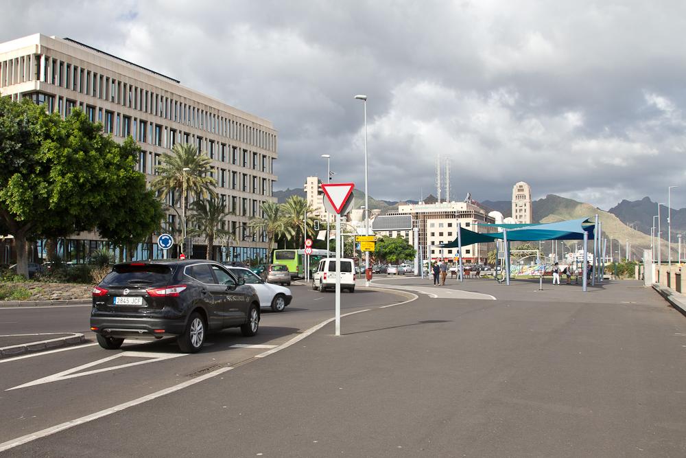 Santa Cruz de Tenerife auf Teneriffa Kreuzfahrt