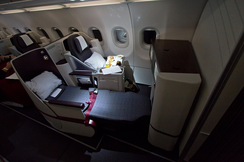 Qatar Airways Business Class Airbus A320