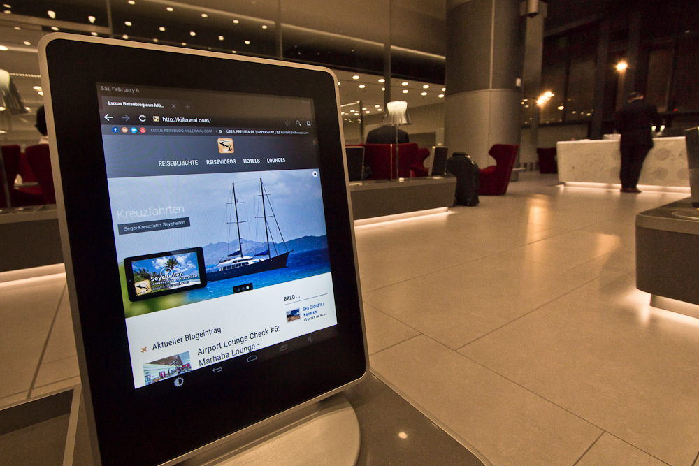 Doha Business Class Lounge