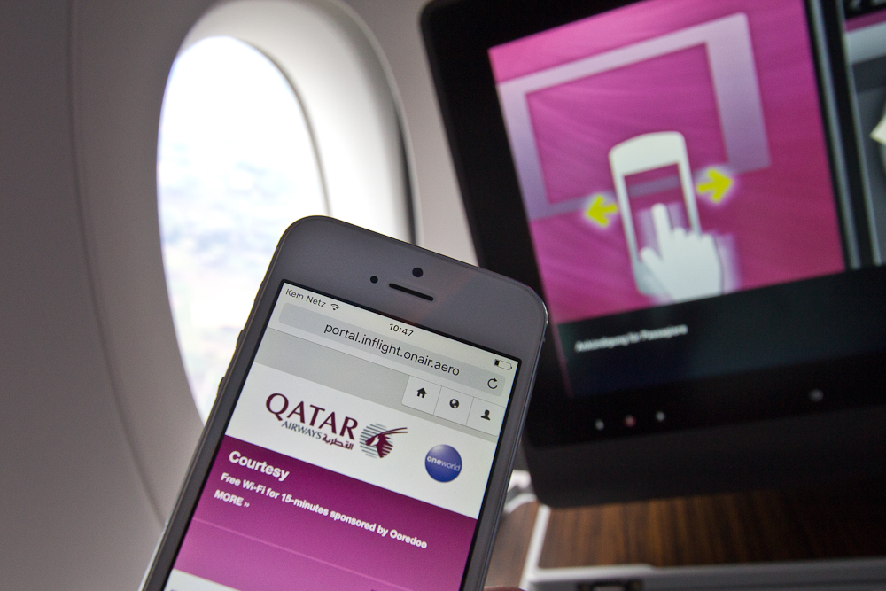Business Class Qatar Airways Airbus A350