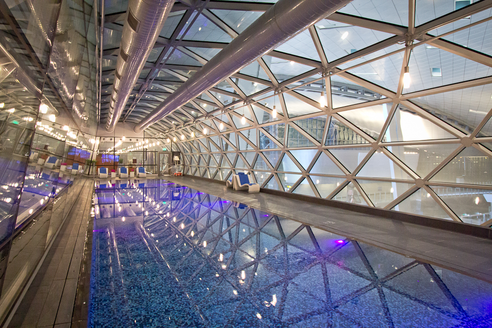 Pool Hamad International Airport Doha