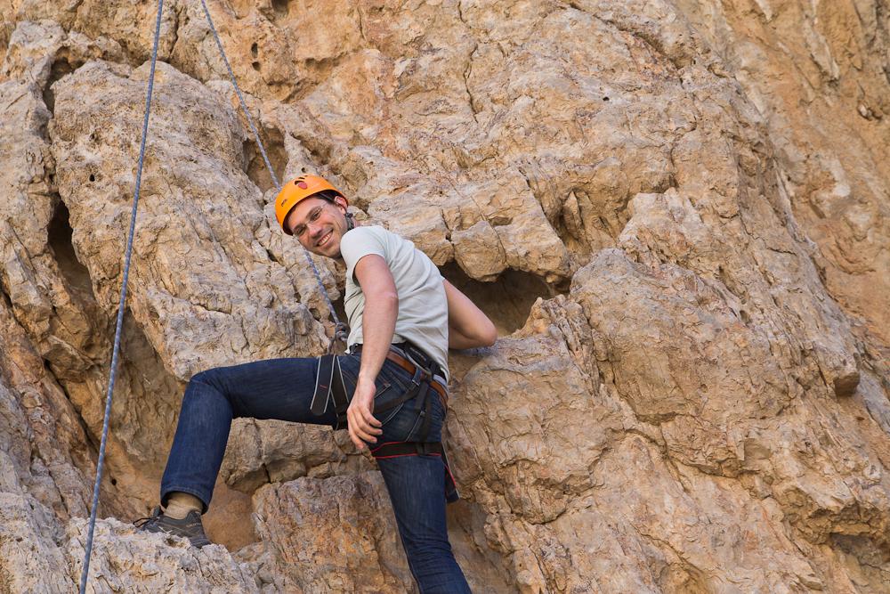 Klettern Berge VAE Ras Al Khaimah