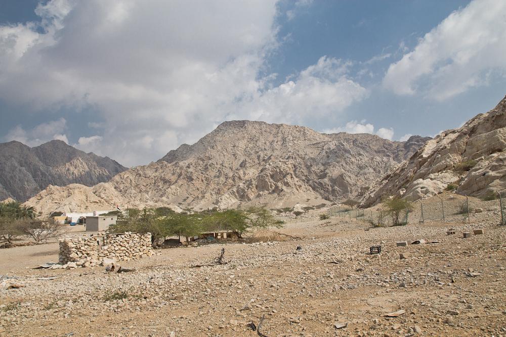 Berge von Ras Al Khaimah