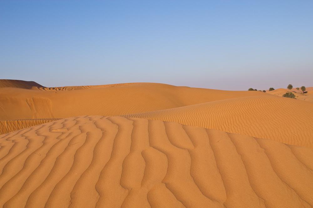 Wüste Ras Al Khaimai Beduinen Camp