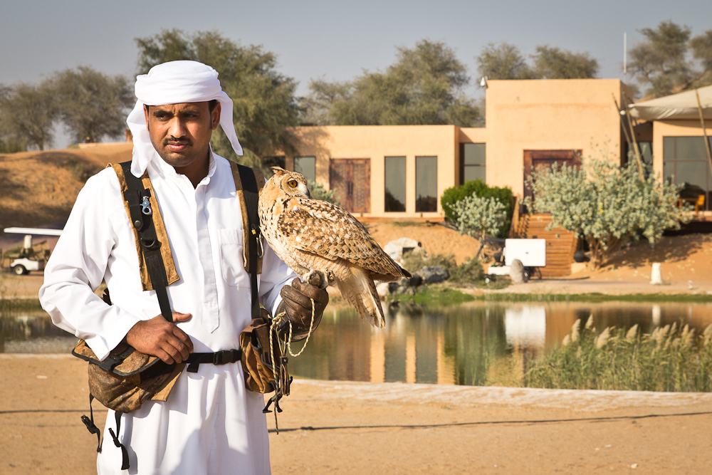 Eulen Show Banyan Tree Al Wadi Ras Al Khaimah
