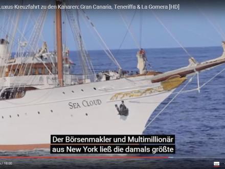 Sea Cloud II YouTube Doku Reiseblog