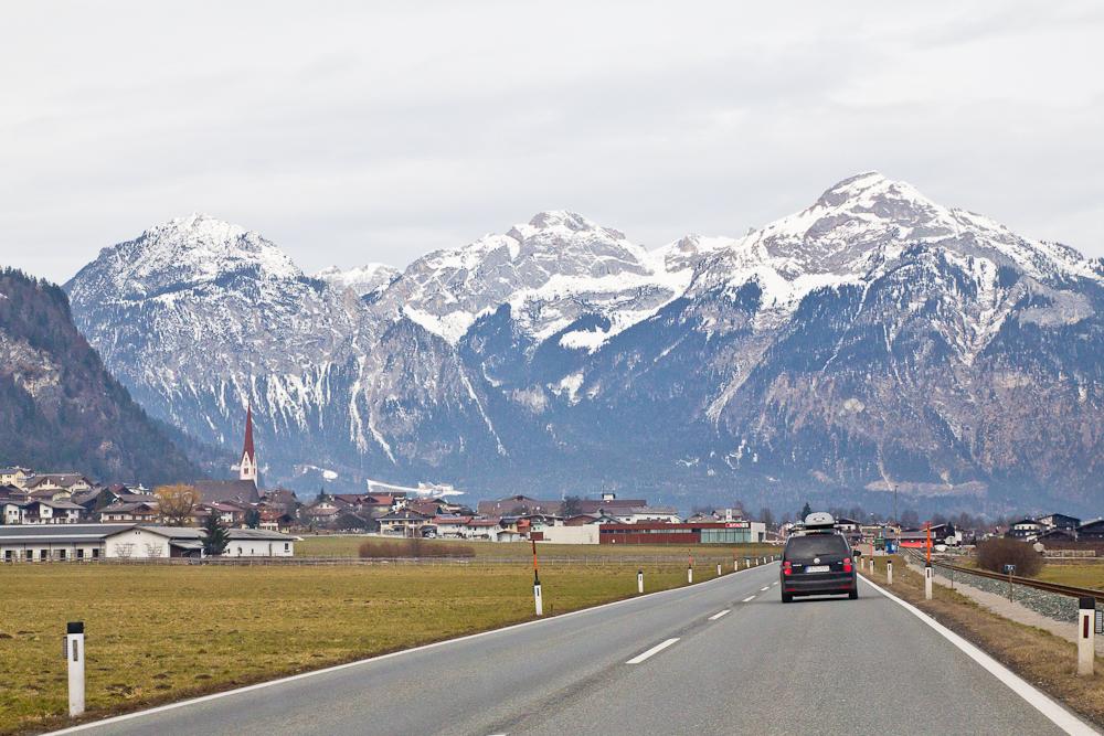 Anfahrt Zillertal Urlaub