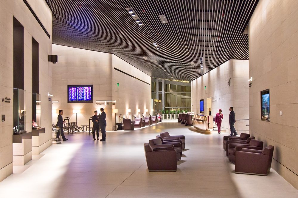 Al Safwa First Class Lounge Hamad International Airport Doha