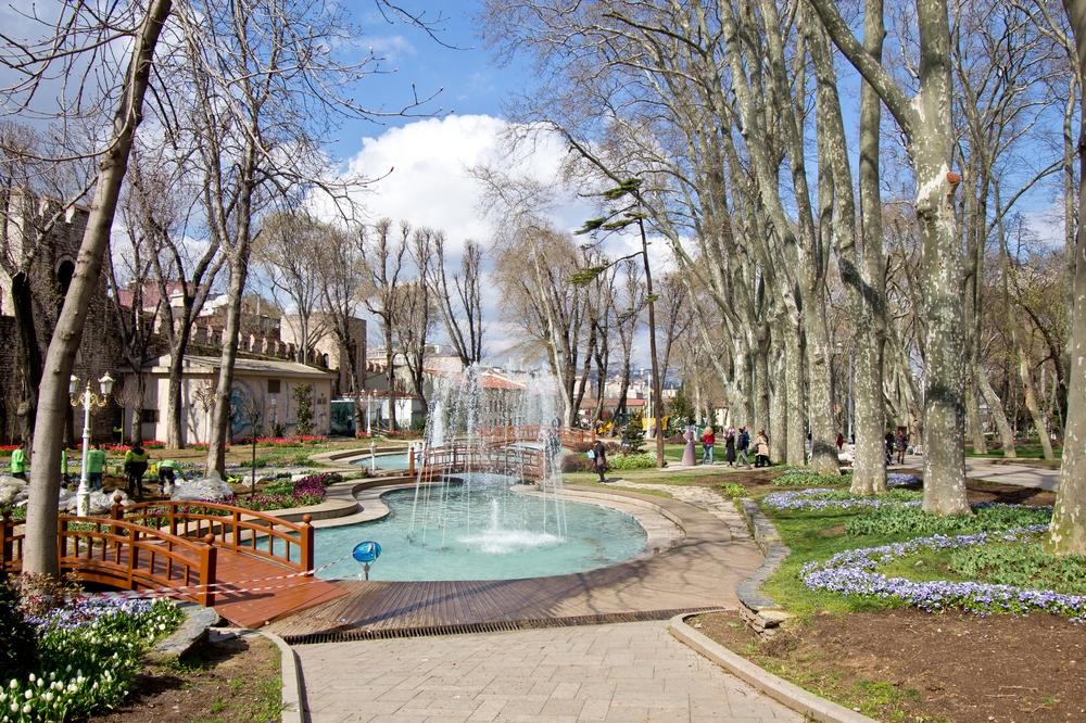 Tulpen Istanbul Gülhane Park Städtereise