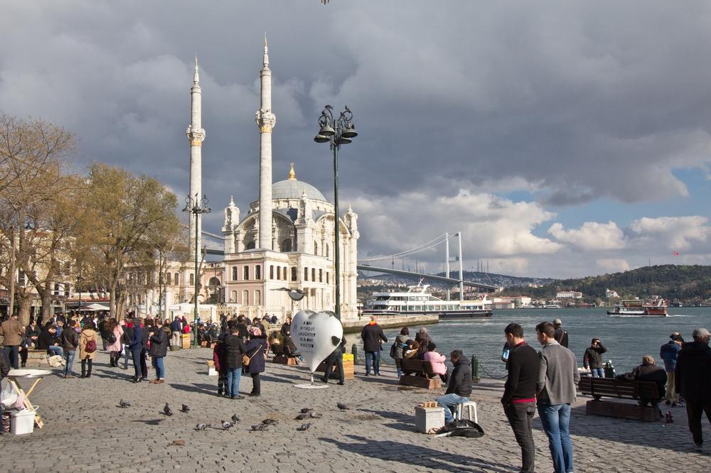 Ortaköy Moschee Hafen Beşiktaş Istanbul