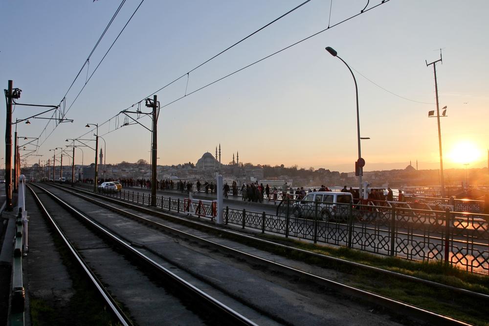 Istanbul Bosporus Sonnenuntergang