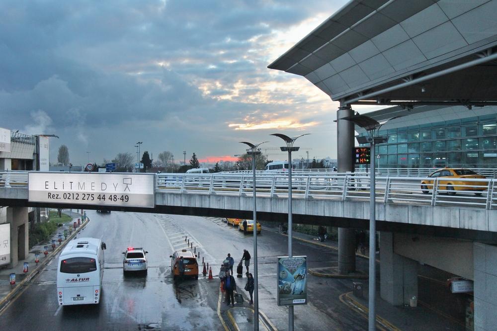 Flughafen Istanbul Atatürk Sunset