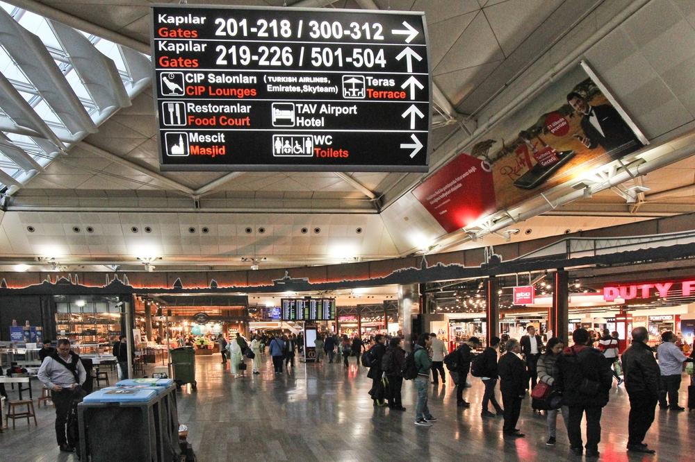 Flughafen Istanbul-Atatürk Airside Lounge