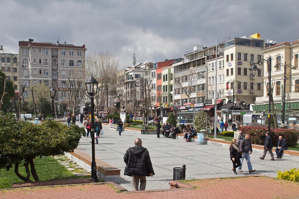 Sultan Ahmet Park Istanbul