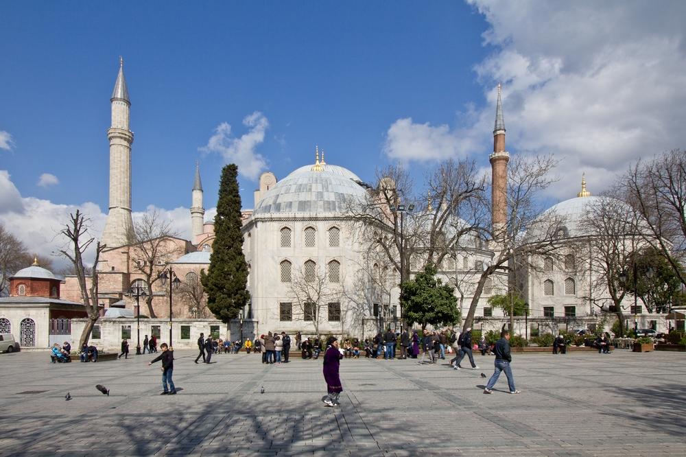 Hagia Sophia Istanbul Türkei Reise