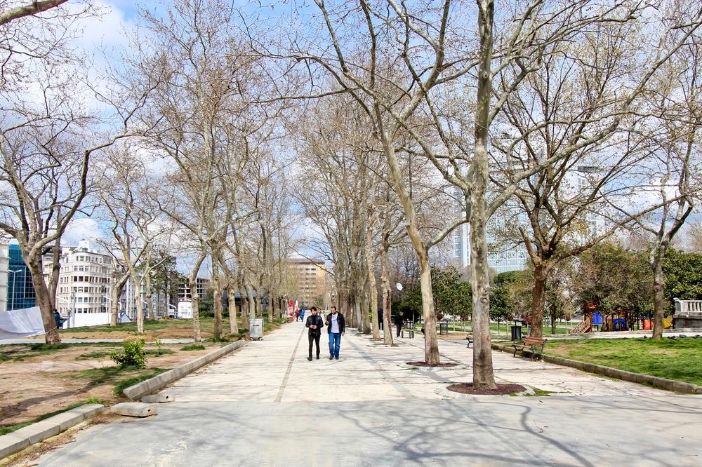 Gezi-Park Istanbul Städtereise Türkei