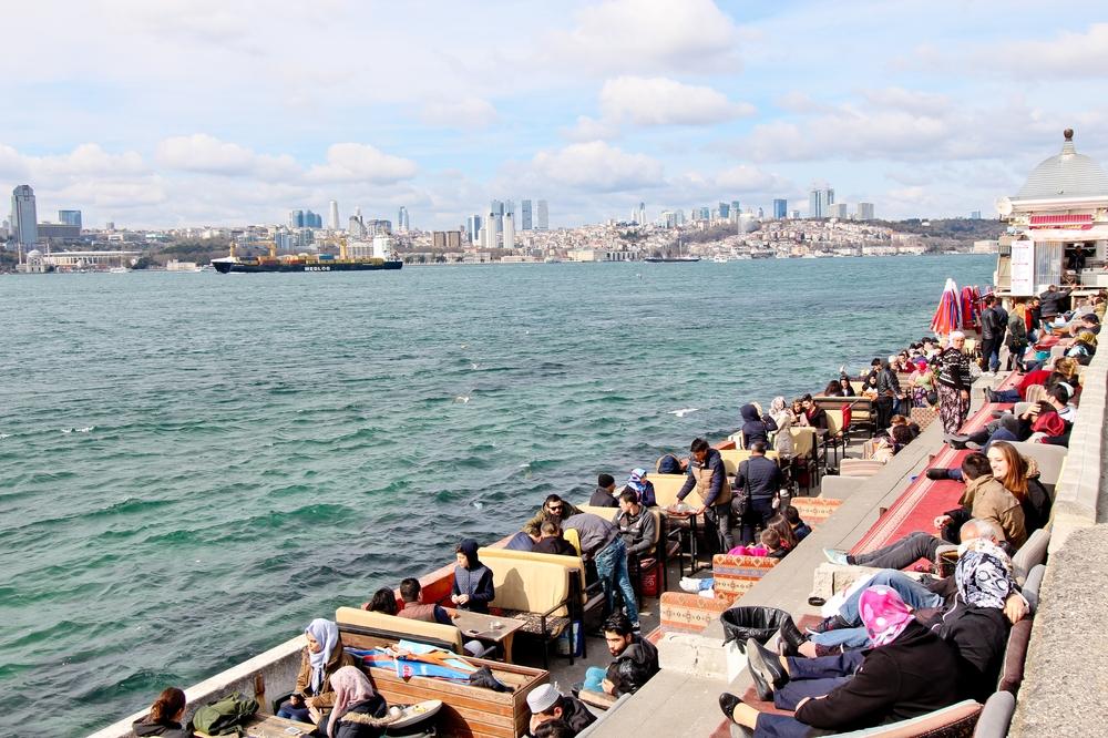 Leanderturm Kız Kulesi Mädchenturm Istanbul