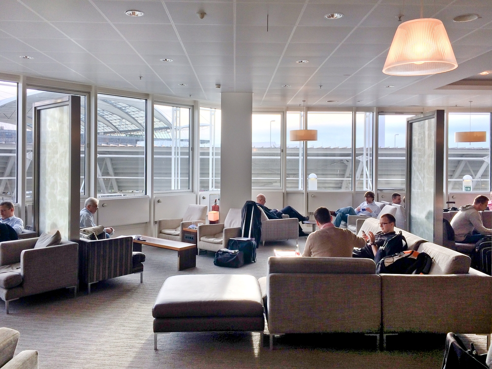 British Airways Galleries Lounge Flughafen München