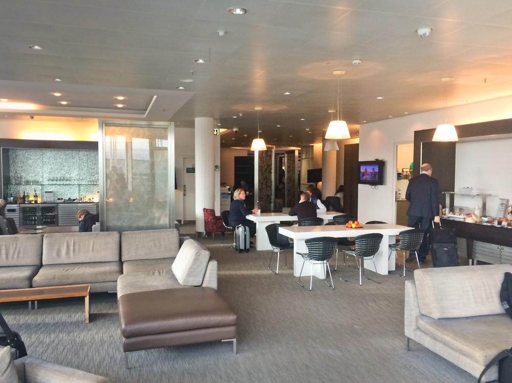 Getränke British Airways Galleries Lounge Flughafen München