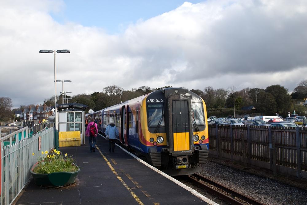 Railway Station Lymington Pier Isle of Wight