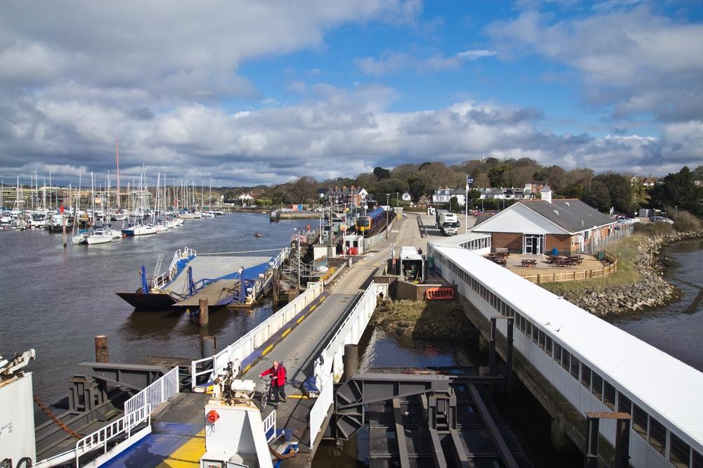 wightlink ferrys isle of wight lymington pier