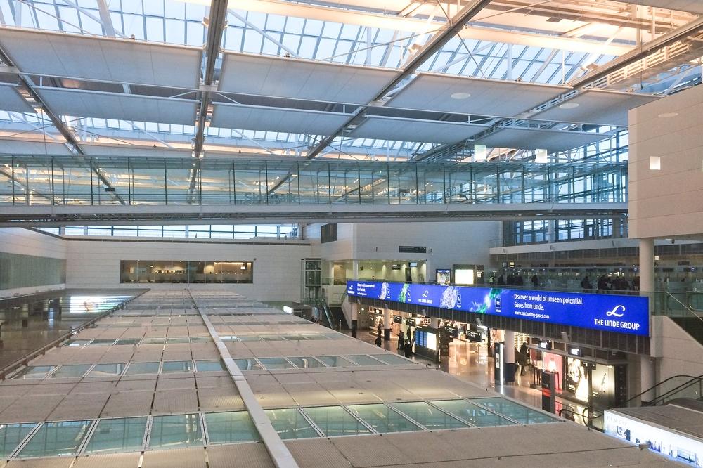 Lufthansa Business Class Lounge Munich Airport Flughafen München