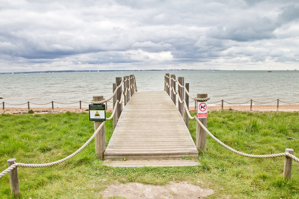 Osborne House Beach Isle of Wight Strand