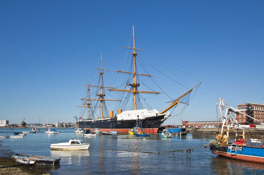 HMS Warrior Portsmouth Historic Dockyard