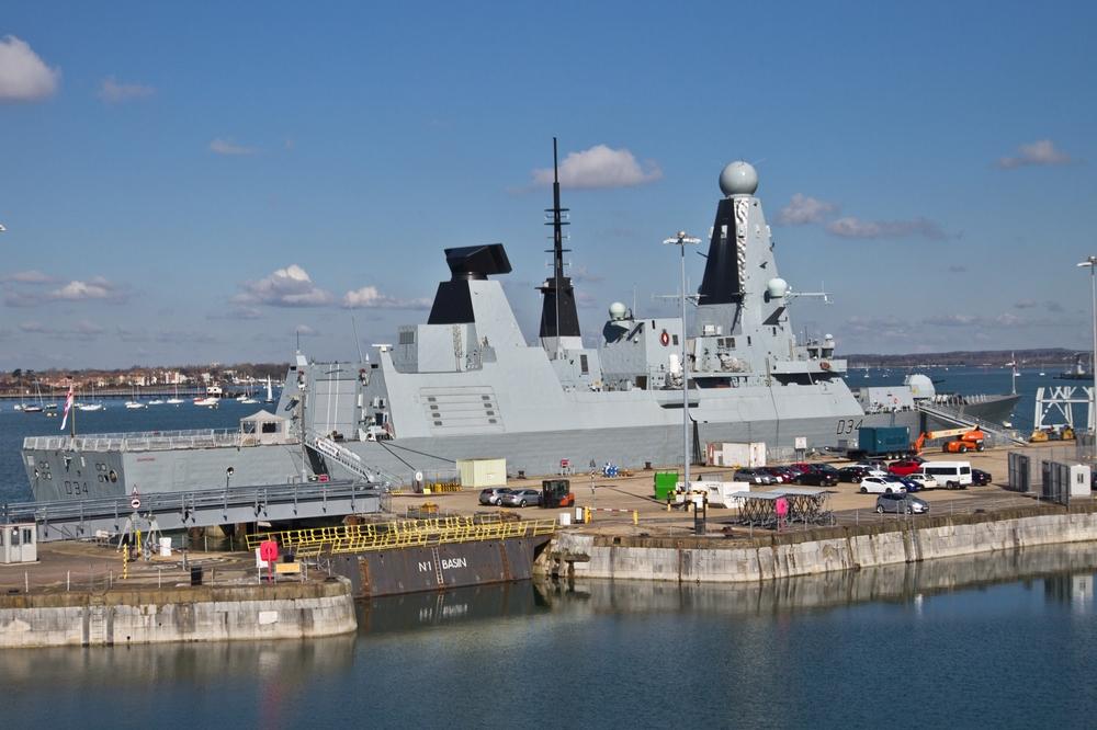 Kriegsschiff Portsmouth