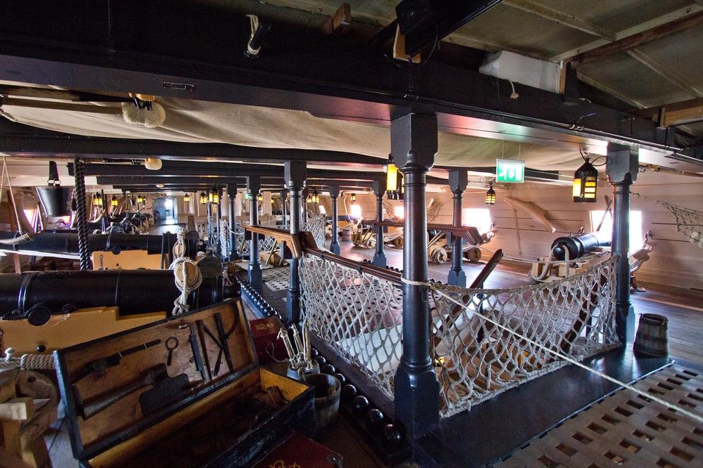 Bewaffnung Kanonen HMS Victory
