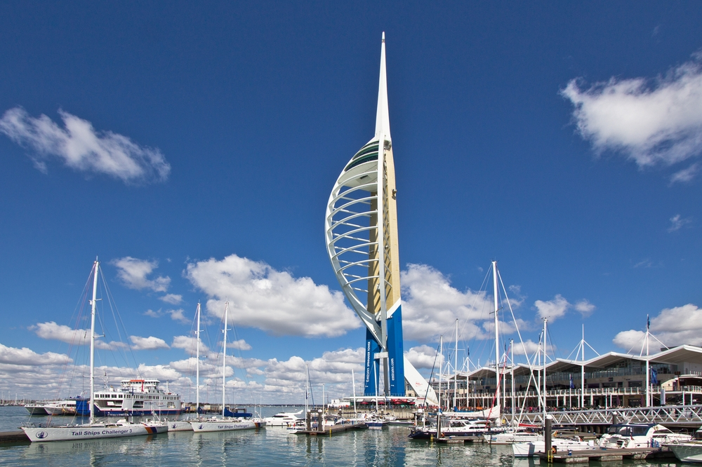 Spinnaker Tower Portsmouth Gunwharf Quays